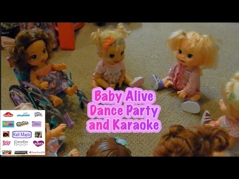 Baby Alive Dance Party and Karaoke
