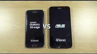 Asus Zenfone 2 ZE551ML VS Galaxy S6 Edge - Speed Test!