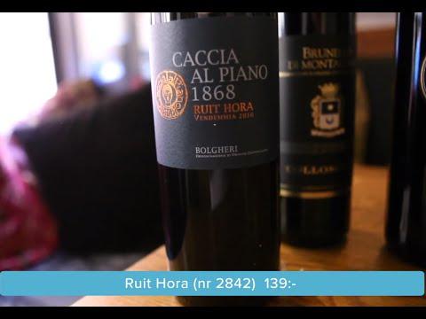 Din guide om vin med Anders Levander och Fredrik Schelin provar Toscana