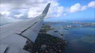 American Airlines Boeing 767-300ER Milano (MXP) to Miami (MIA) Full Flight