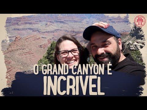 UM PASSEIO INCRIVEL - DE TREM AO GRAND CANYON