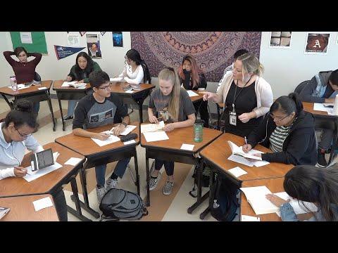 Adams City High School English Teacher Devotes her Life to Being an Effective Teacher