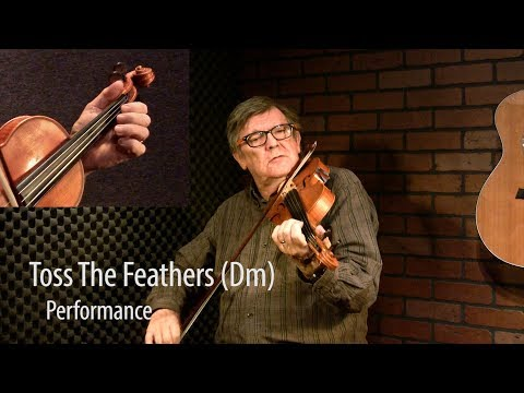 Toss the Feathers (Dm) - Trad Irish Fiddle Lesson by Kevin Burke