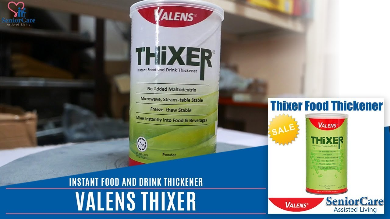 Valens Nutrition Thixer Food Thickener 300g