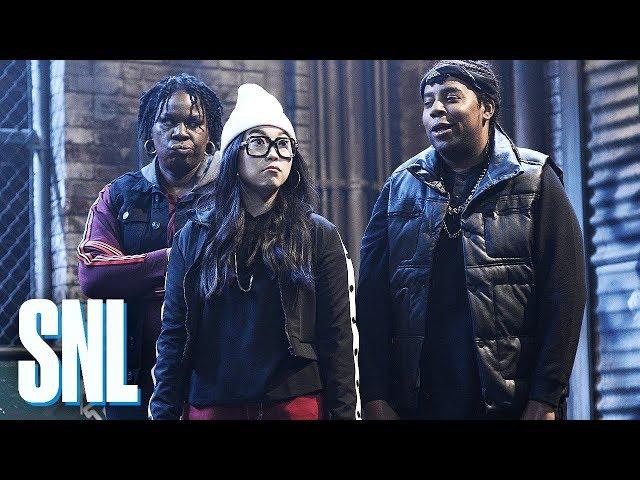 aebd0370b7b8 Travis Scott Dances to 'Jeopardy' Theme Song on 'SNL'