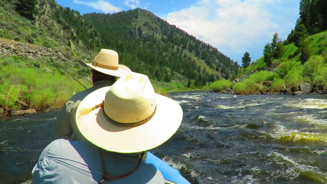 Fly Fishing On The Big Hole River Montana Youtube