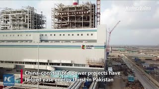 Baixar China-constructed power projects benefit energy-thirsty Pakistan
