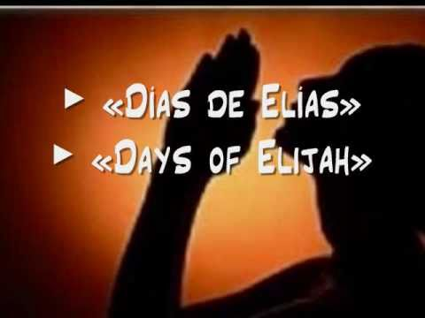 days of elijah lyrics and chords pdf