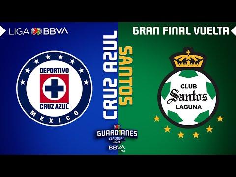 Cruz Azul Santos Laguna Goals And Highlights