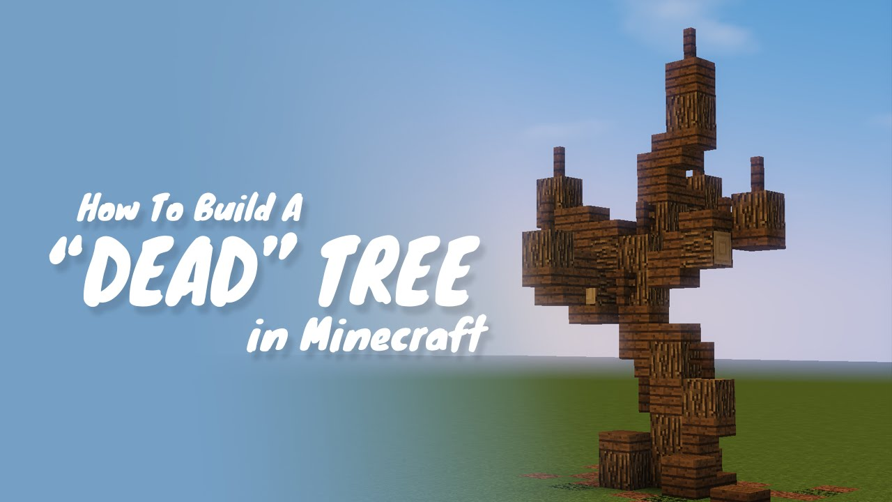 how to get tree saplings in minecraft