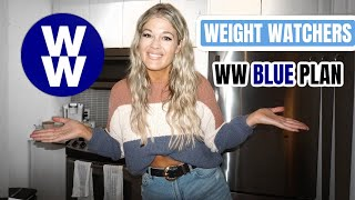What I Eat iฑ a Day on Weight Watchers | WW BLUE PLAN