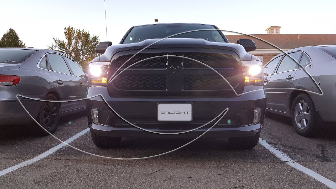 maxresdefault diy 2009 2014 dodge ram 1500 xenon hid headlight install guide by  at webbmarketing.co
