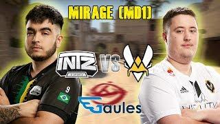 StarLadder Major 2019 Main Qualifier - INTZ vs Vitality - Mirage (MD1)