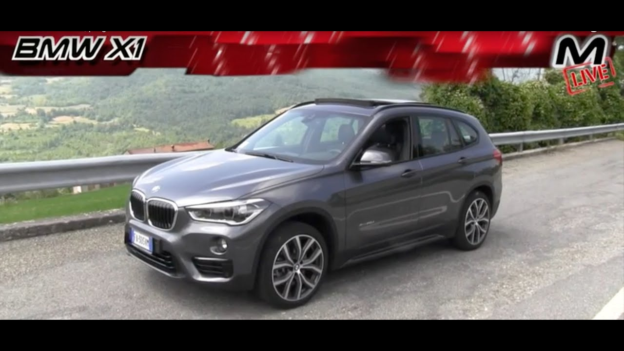 bmw x1 test drive prova su strada pregi e difetti youtube. Black Bedroom Furniture Sets. Home Design Ideas