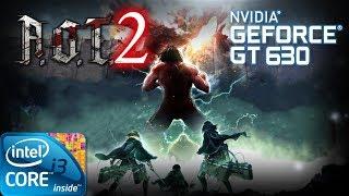 ATTACK ON TITAN 2 | Gameplay ON GT630 2GB DDR3 [HD]