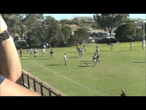 Fremantle vs South Perth first grade 23 03 2013 1st half
