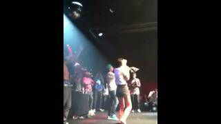Kreayshawn & v nasty perform gucci gucci at Highline ballroom
