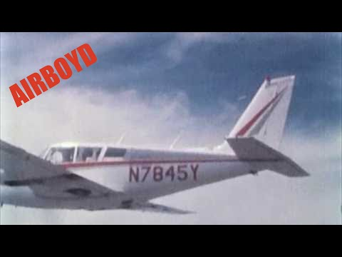 Piper PA-30 Twin Comanche Aircraft Tail Flutter Test