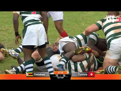 Rugby Africa Gold Cup : ZIMBABWE v TUNISIA