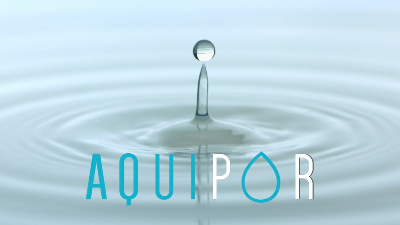 What is AquiPor and it's revolutionary technology?