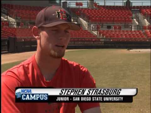 NCAA On Campus - Stephen Strasburg - San Diego State University Baseball