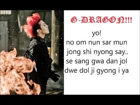 BIGBANG monster lyrics simple