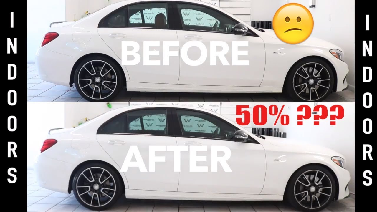 is 50 window tint worth it youtube