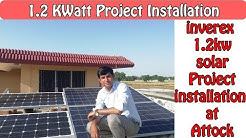1.2 kW Project Installation