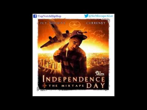 Curren$y - 100 Grand (Ft. Joey Queans) [Independence Day]