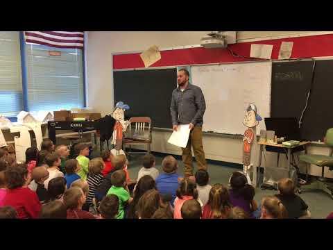 Palindromes and semordnilaps at Shull-David Elementary School