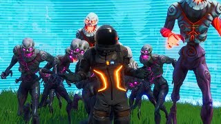 """GETTING 200K OF POINTS IN """"FIERY HORDE"""" MODE IS IMPOSSIBLE! Fortnite"""