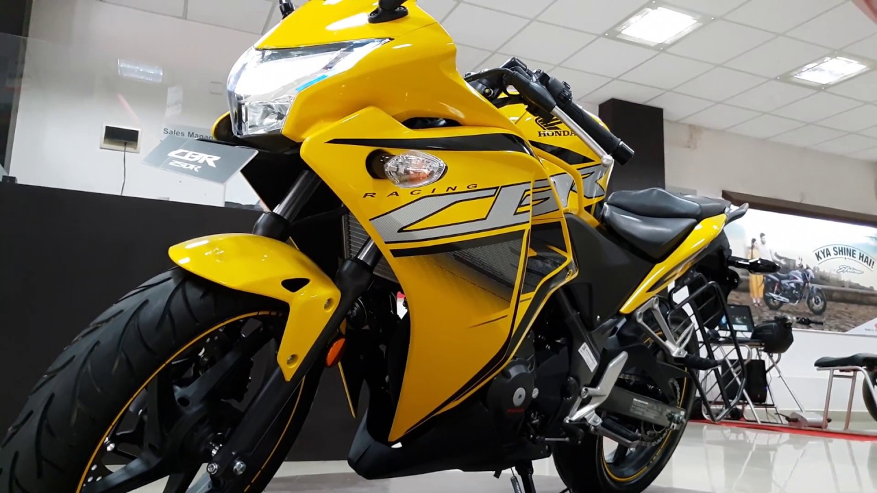 2018 Honda Cbr 250r In 4k 60fps Pearl Sports Yellow Sports