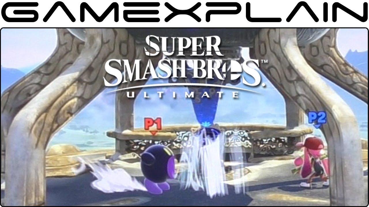 Super Smash Bros Ultimate 1 Vs 1 Gameplay Inkling Vs