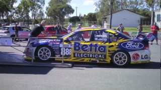 Triple Eight Race Engineering's first Bathurst-winning car at Queensland Raceway