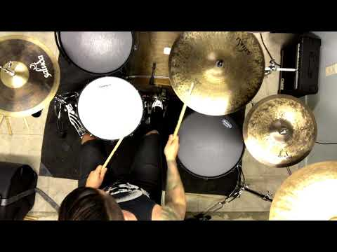 """Slaves BC """"Nothing Remains But Death"""" Drumcam Playthrough"""