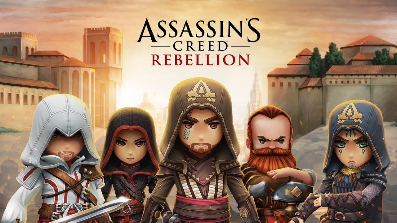 Para Assassin Berkumpul Dalam Assassin S Creed Rebellion