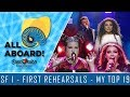 EUROVISION 2018 - FIRST REHEARSALS of Semi-Final 1 - MY TOP 19 w/COMMENTS!