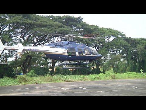 ക്രൂസ് ഷിപ്പിലെത്തിയാൽ ഇനി കേരളം ചുറ്റാം; സൗകര്യമൊരുക്കി ചിപ്സൺ ഏവിയേഷൻ | Kochi Helicopter
