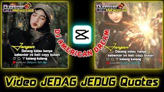 Download Mp3 Gini Cara Edit Foto Kalian Jadi JEDAG JEDUG Quotes DJ AMERICAN DREAM CAPCUT