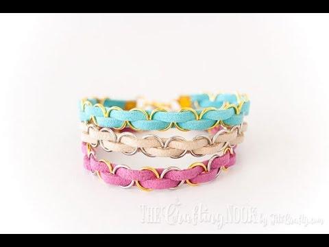 DIY Friendship Bracelets – How to DIY  Easy Braided Bracelet + Tutorial .