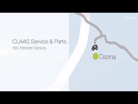 CLAAS Service and Parts. #9 | Remote Service.