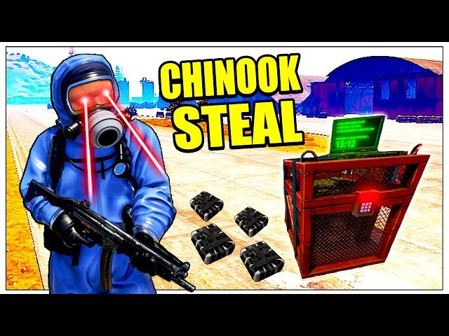Rust CHINOOK LOOT COUNTER RAID! - SOLO + DUO Gameplay - Terra Rusticus (Rust Modded Raids PvP Plays)