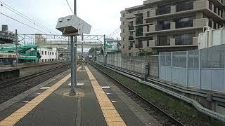 【福工大前駅・415系・普通】415系Fo119+FM1511普通鳥栖行到着シーン