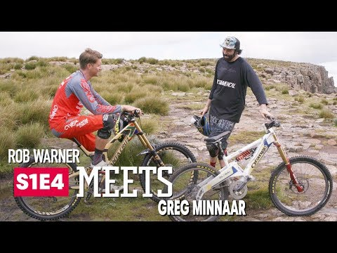 Shredding Trail & Talking MTB w/ Greg Minnaar | Rob Meets: Ep 3