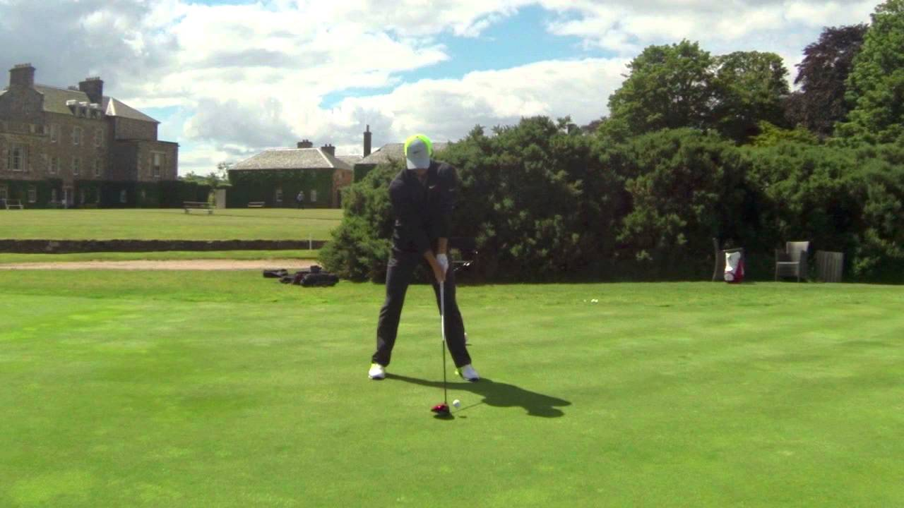 Rory Mcilroy Slow Motion Swing Sequence 2014 Youtube
