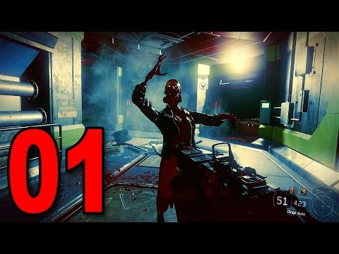 """Black Ops 3 """"NIGHTMARES"""" - Part 1 - ZOMBIES CAMPAIGN! (Zombie Singleplayer Mode)"""