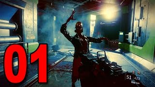 "Black Ops 3 ""NIGHTMARES"" - Part 1 - ZOMBIES CAMPAIGN! (Zombie Singleplayer Mode)"