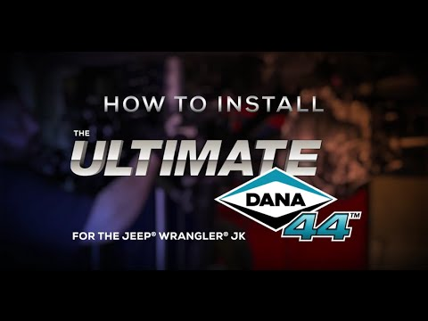 hqdefault ultimate dana 44 axle installation spicer garage youtube Air Locker Dana 44 at mifinder.co