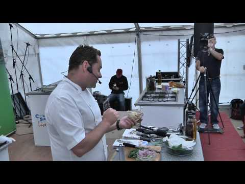 Neven Maguire Celebrity Chef at The Taste Of Cavan. Irishwebtv.com Media Group Production