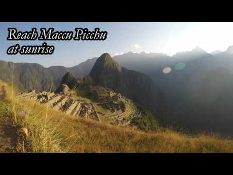 Incredible Machu Picchu and Inca trail timelapse video !!!